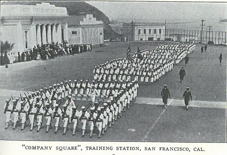 """Company Square"", Training Station, San Francisco, Cal. pg7"