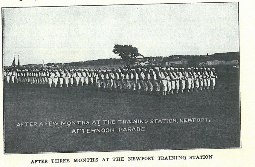 After Three Months at the Newport Training Station pg20