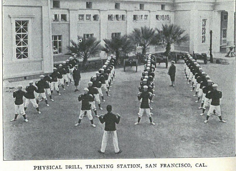 Physical Drill, Training Station, San Francisco, Cal. pg8
