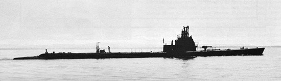 USS Albacore (SS-218) Getting Underway.