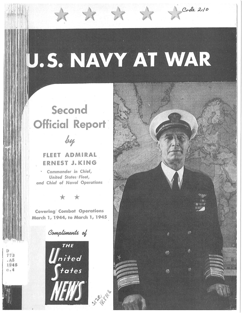 U.S. Navy at War, Second Official Report