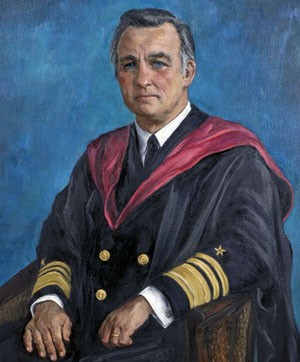 Image - painting of VADM Stansfield Turner