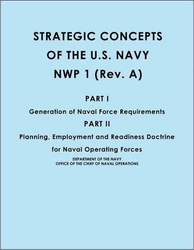 Image - cover - Strategic Concepts of the US Navy NWP 1 (Rev. A)
