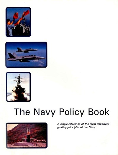 Image - cover - The Navy Policy Book