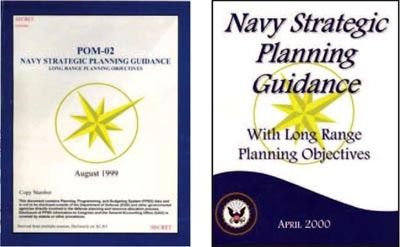 Image - Covers: POM 02 and Navy Strategic Planning Guidance