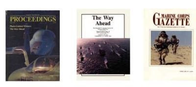 Image - Publication covers - Proceedings, The Way Ahead, Marine Corps Gazette