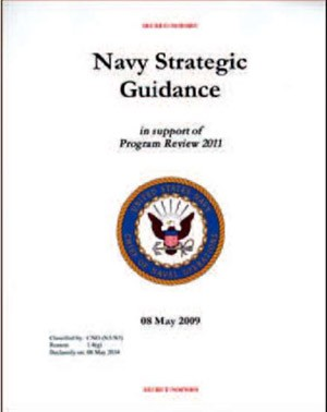 Image - Cover: Navy Strategic Guidance