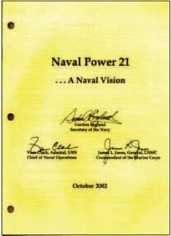 Image - Cover: Naval Power 21...A Naval Vision