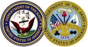 Image of USN - US Army seals