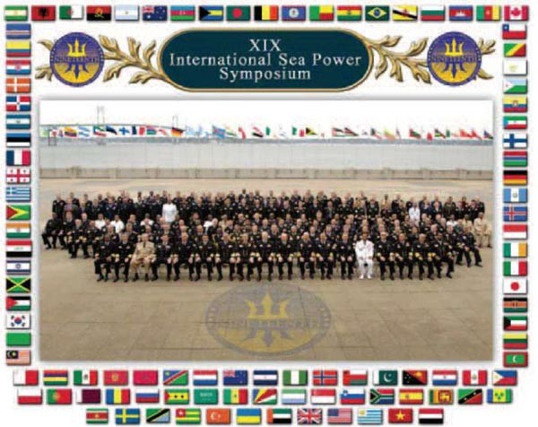 Image of XIX International Sea Power Symposium attendees
