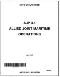 Image of publication - 'AJP 3.1 Allied Joint Maritime Operations (Apr 2004)'