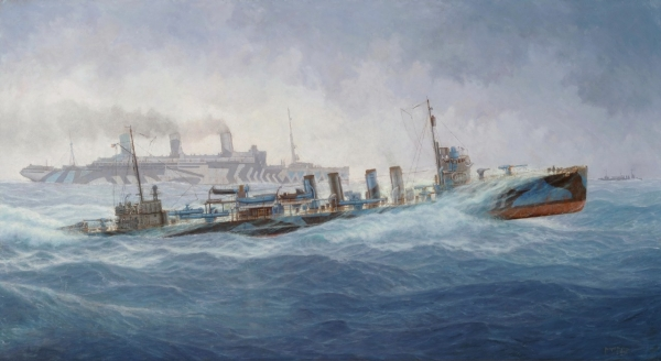United States Navy and World War I: 1914–1922