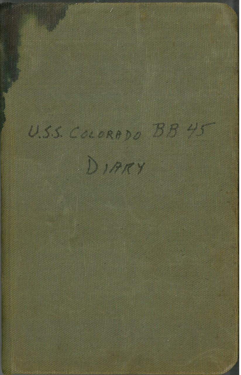 U S S  Colorado BB-45 Diary
