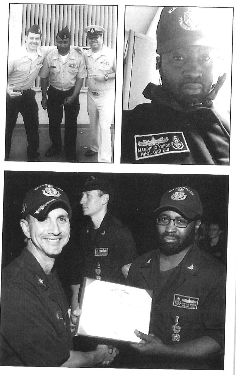 Photos of Petty Officer Ingram
