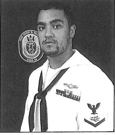 Information System Technician Petty Officer Second Class (Information Warfare/Surface Warfare) Timothy T. Eckels Jr