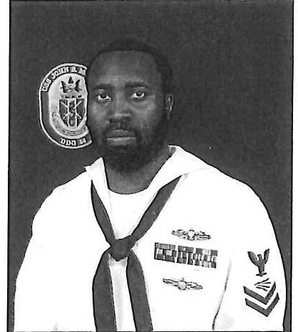 Information System Technician Petty Officer First Class (Surface Warfare/Information Warfare) Corey G. Ingram