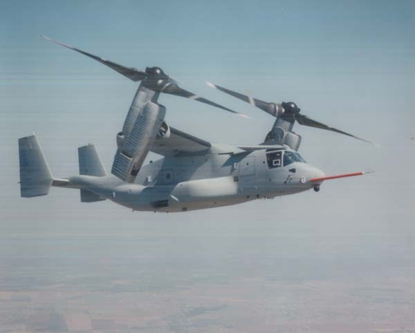 Figure 1. V-22 Osprey in Flight.