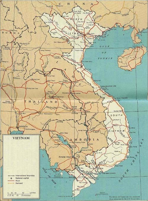 Image - Map - Vietnam