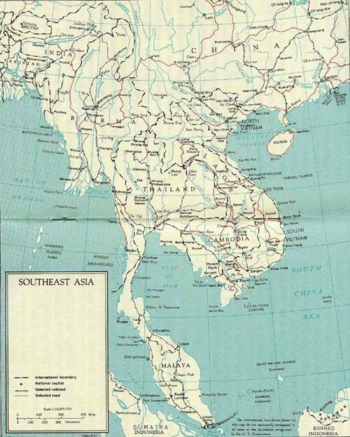 Image - Map - Southeast Asia