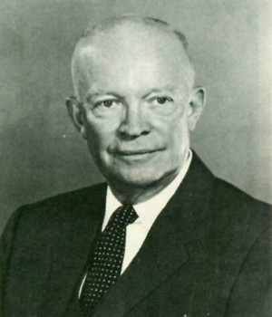 Image of President Dwight D. Eisenhower