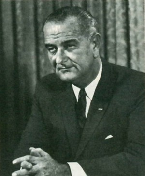 Image of President Lyndon B. Johnson