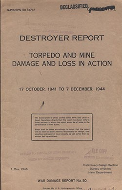 Cover of War Damage Report No. 50