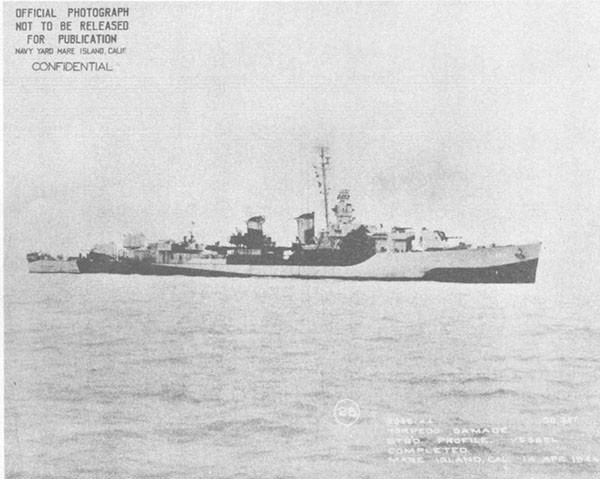 Photo 56: Profile view of SELFRIDGE after completion of all repairs and modernization.