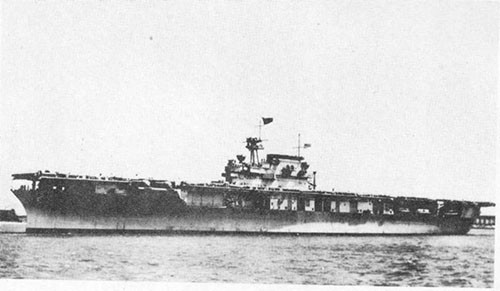 Photo A-1: ENTERPRISE shortly after her commissioning 12 May 1938.
