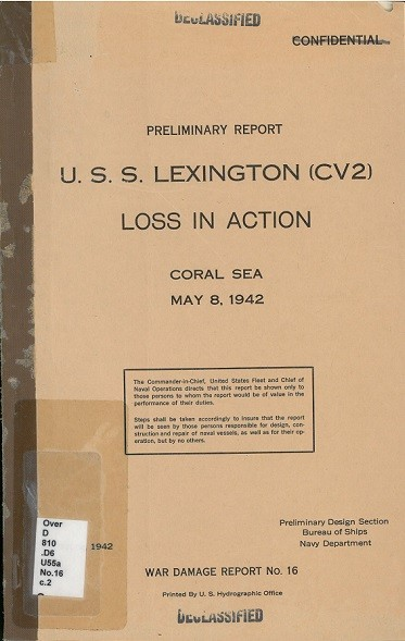 Cover image of War Damage Report No. 16.