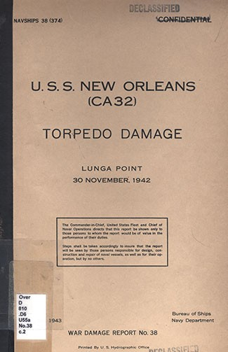 Cover of War Damage Report No. 38