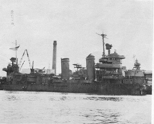 Photo 2: USS NEW ORLEANS - Sydney, Australia, about 26 December, 1942.