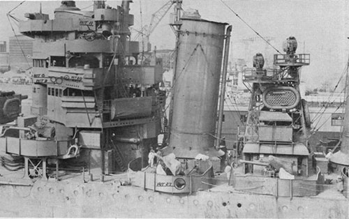 Photo 4: Port side of forward superstructure.