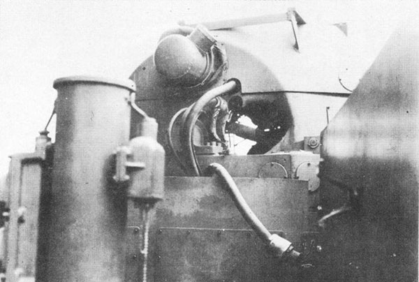 Photo 11: Hit No. 8. Hole through Mk. 45 1.1-inch director.
