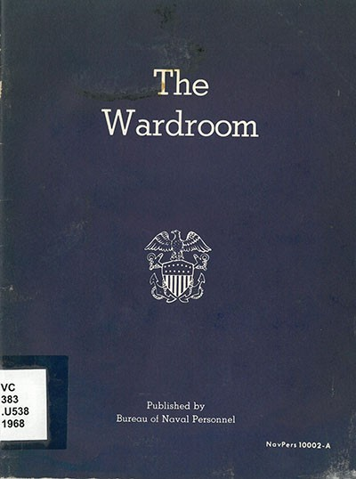 Cover image - The Wardroom - 1968.
