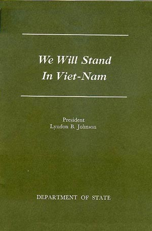 Image of the cover to 'We Will Stand in Viet-Nam'