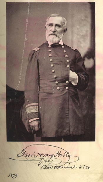 Image of Rear Admiral George Henry Preble dated 1879