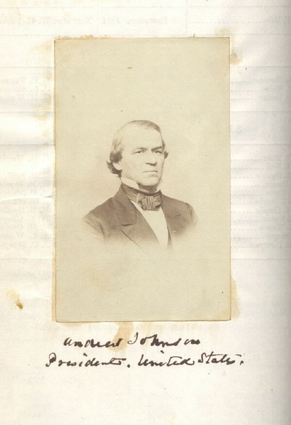 Image of President Andrew Johnson
