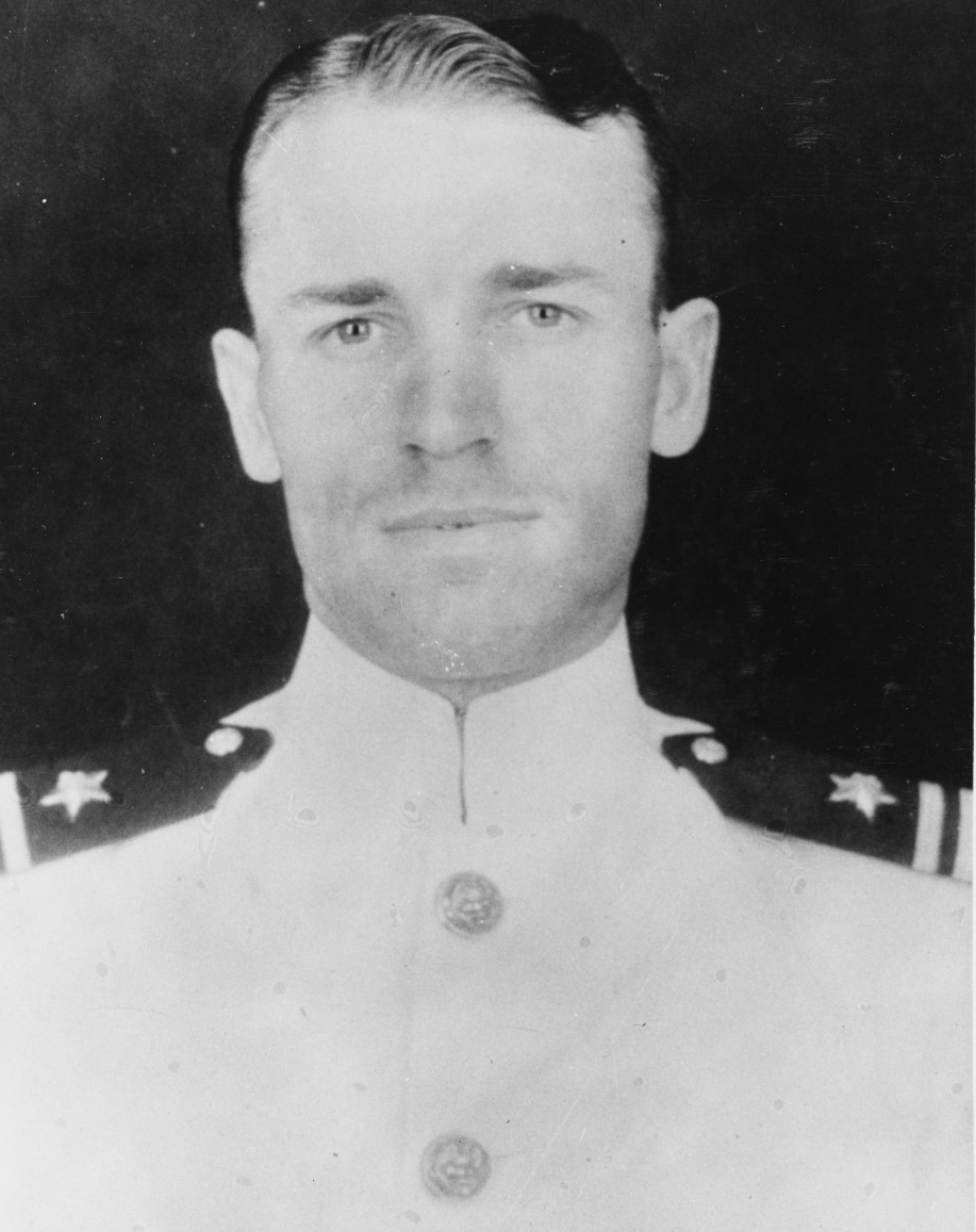 Lieutenant Commander Howard Alston Jr., USN