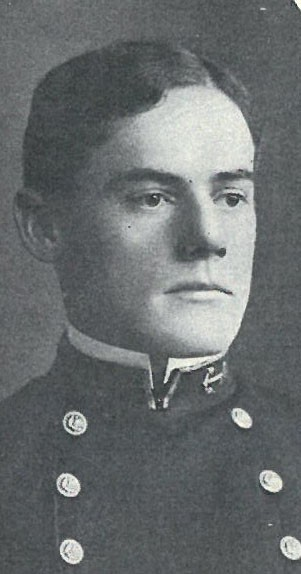 Image of Captain William Ancrum is on page 21 of the 1903 Lucky Bag.