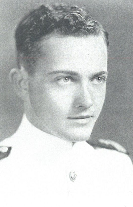 Image of Captain William R. Anderson is on page 247 of the 1943 Lucky Bag.