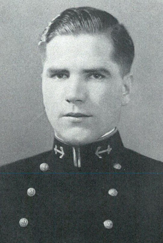 Image of Captain John Andrews Jr is on page 289 of the 1929 Lucky Bag.