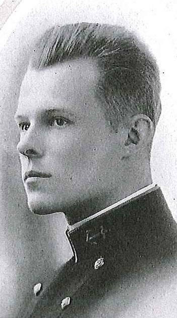 Photo of Captain Daniel Williams Armstrong copied from page 25 of the 1915 edition of the U.S. Naval Academy yearbook 'Lucky Bag'.