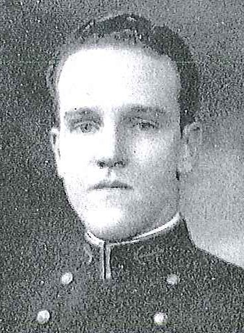 Photo of Lieutenant Commander John H. Armstrong, Jr.copied from page 232 of the 1930 edition of the U.S. Naval Academy yearbook 'Lucky Bag'.