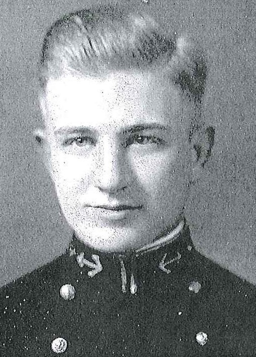 Photo of Commander Henry A. Arnold copied from page 78 of the 1936 edition of the U.S. Naval Academy yearbook 'Lucky Bag'.