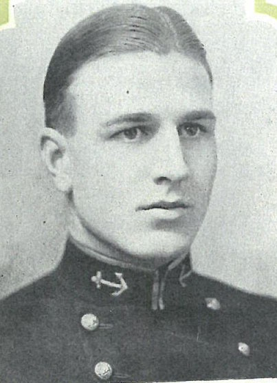 Photo of RADM Leoard W. Bailey copied from page 347 of the 1927 edition of the U.S. Naval Academy yearbook 'Lucky Bag'.