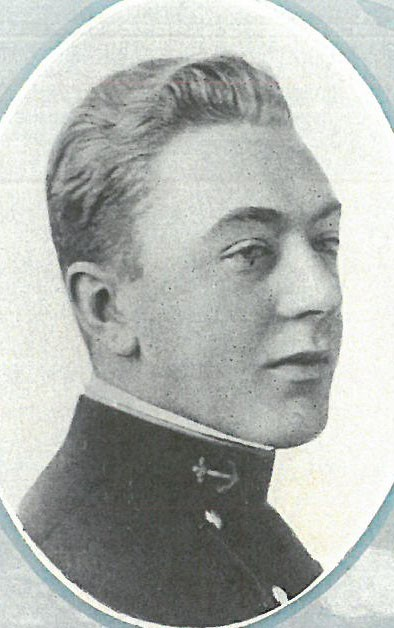 Photo of RADM Watson O. Bailey copied from page 32 of the 1918 edition of the U.S. Naval Academy yearbook 'Lucky Bag'.