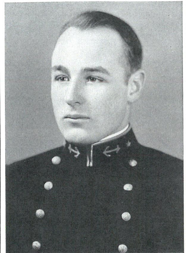 Photo of Captain A. Lincoln Baird copied from page 365 of the 1929 edition of the U.S. Naval Academy yearbook 'Lucky Bag'.