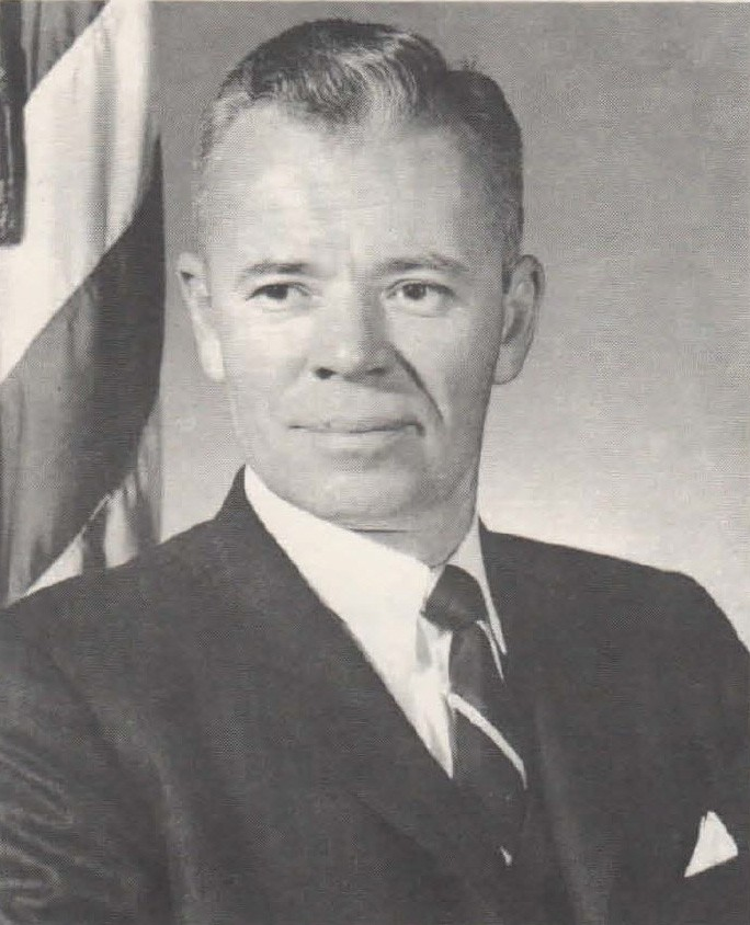 Photo of Acting Secretary of the Navy Charles F. Baird