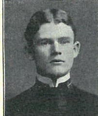 Photo of Rear Admiral Harry Alexander Baldridge copied from page 30 of the 1902 edition of the U.S. Naval Academy yearbook 'Lucky Bag'.