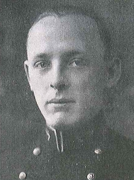 Photo of James O. Banks, Jr. copied from page 186 of the 1925 edition of the U.S. Naval Academy yearbook 'Lucky Bag'.